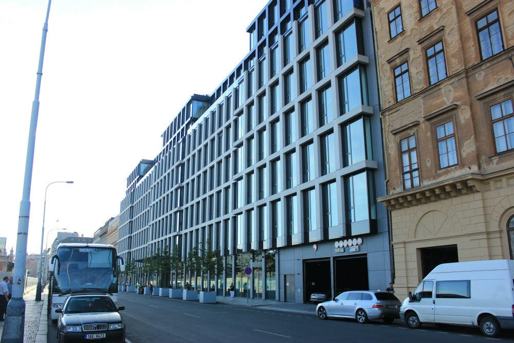 LEED is global. The Florentinum building in Prague, Czech Republic, achieved a Platinum rating under the USGBC LEED BD+C Core and Shell v2009 rating system in 2014.
